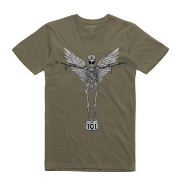 SmogCity - Freeway Angel Unisex Tee Shirt - Band Merch and On-Demand Designer Shirts