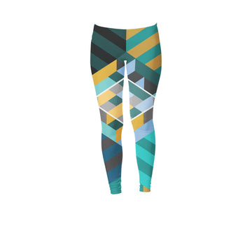 House of Stairs - Women's Leggings - Band Merch and On-Demand Designer Shirts
