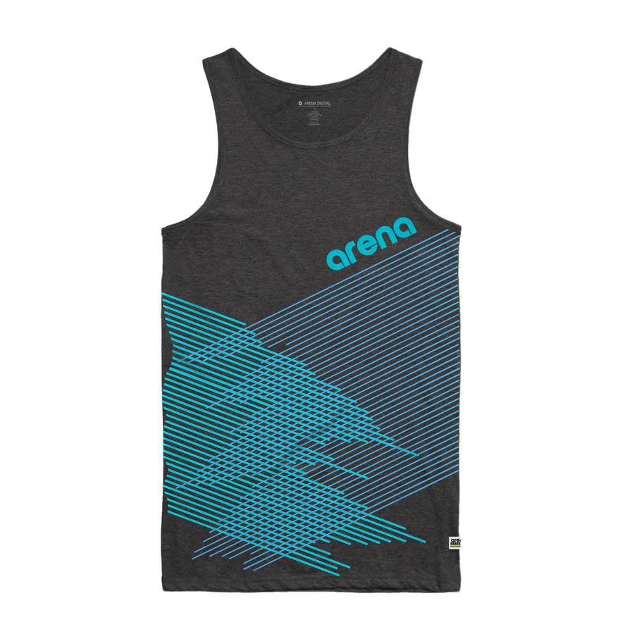 Crossing Lines - Men's Tank Top - Band Merch and On-Demand Designer Shirts