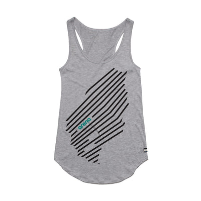 Arena Music | Cascadia - Heather Grey Women's Tank Top
