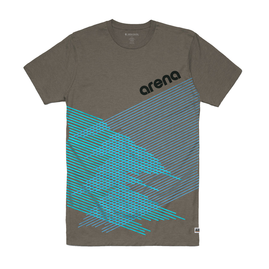 Arena Music | Crossing Lines - Steel Unisex Tee Shirt