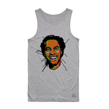 Waka Flocka Flame - Face Men's Tank Top - Music Merchandise and Designer Shirts