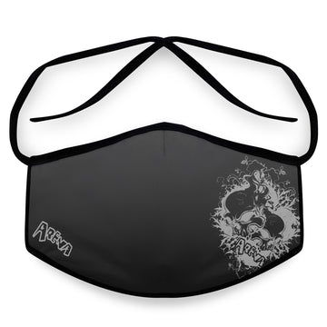 Arena Hardcore- Arena Tour Mask (Includes 1 PM2.5 Carbon Filter) Reversible Face Mask