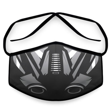 Twin Ion- Arena Tour Mask (Includes 1 PM2.5 Carbon Filter) Reversible Face Mask