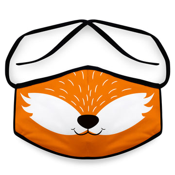 Fox - Unisex Reusable Face Mask, Face Cover, Festival Cover | Arena