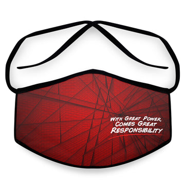 Responsibility- Arena Tour Mask (Includes 1 PM2.5 Carbon Filter) Reversible Face Mask