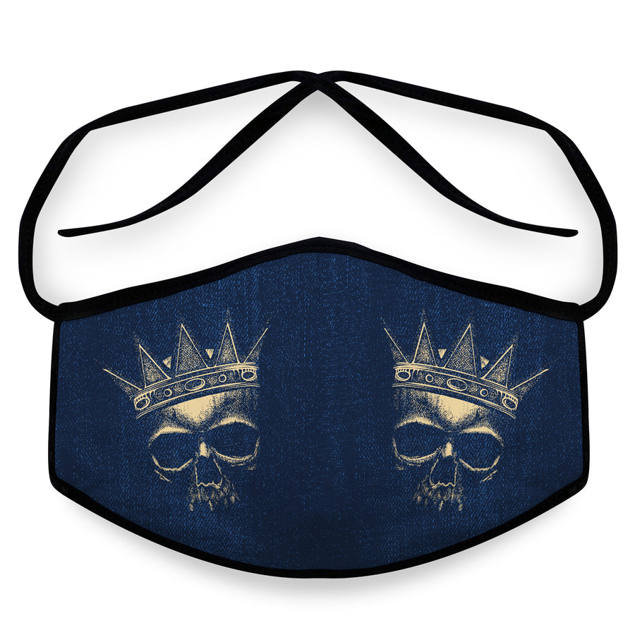 King Arthur - Reusable Cloth Face Mask, Face Cover, Festival Cover | Arena - Band Merch and On-Demand Designer Shirts