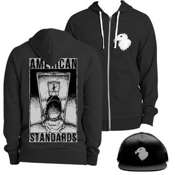 American Standards - Hoodie, Hat, and Album Bundle - Band Merch and On-Demand Designer Shirts