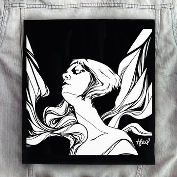 Icarus Back Patch - Music Merchandise and Designer Shirts