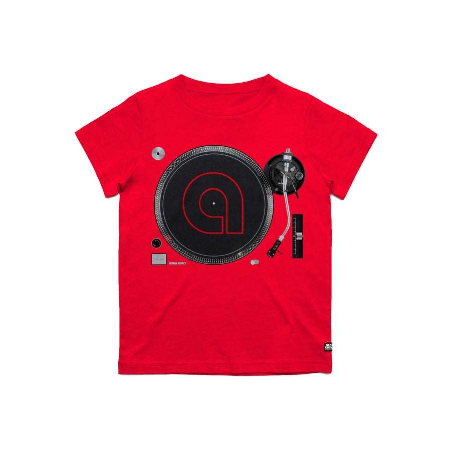 Arena Music | Decks - Red Youth Tee Shirt