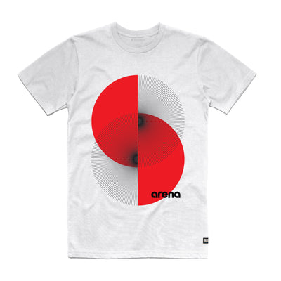 Apex White Unisex Tee Shirt