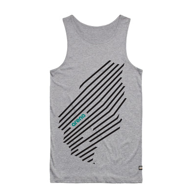 Arena Music | Cascadia - Heather Grey Men's Tank Top