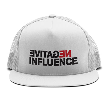 Waka Flocka Flame - Negative Influence Trucker Snapback Hat - Band Merch and On-Demand Designer Shirts