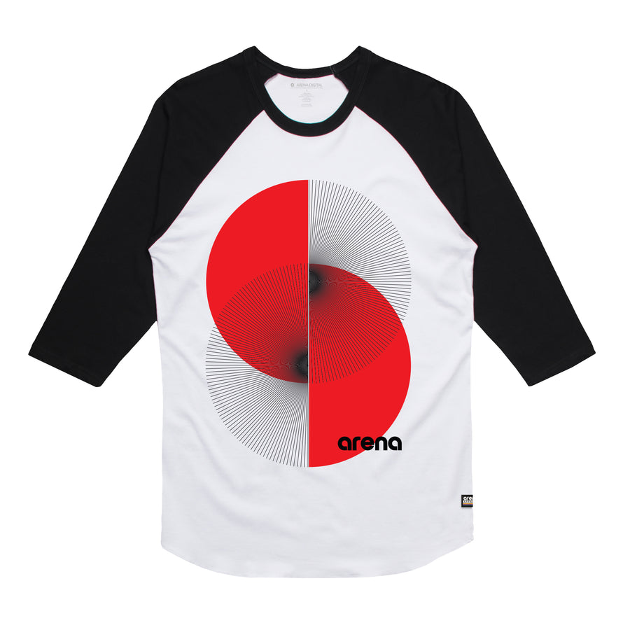Apex - Unisex Raglan Tee Shirt - Band Merch and On-Demand Designer Shirts