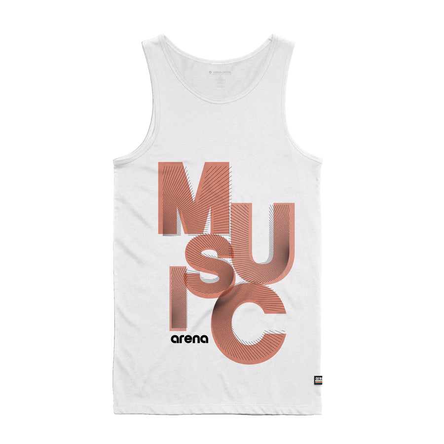 Reverb - Men's Tank Top - Band Merch and On-Demand Designer Shirts