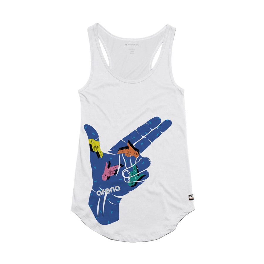 Arena Music | Finger Gun - Womens Tank Top