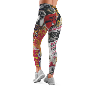 On Tour - All Over Print Leggings | Arena