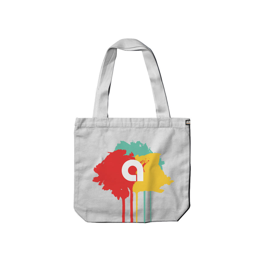 Arena Reigns White Carry Tote Front