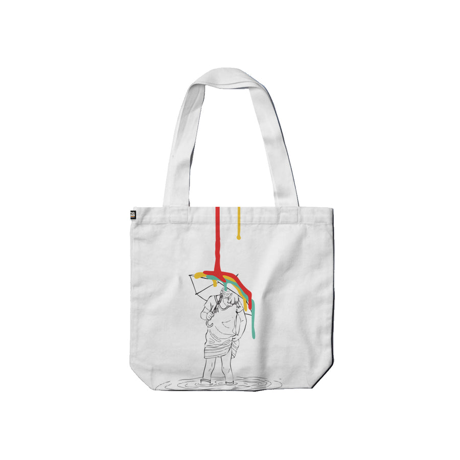 Arena Reigns White Carry Tote Back