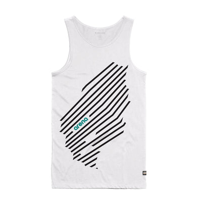 Arena Music | Cascadia - White Men's Tank Top