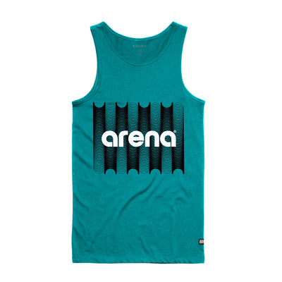 Arena Music | Converge - Teal Men's Tank Top