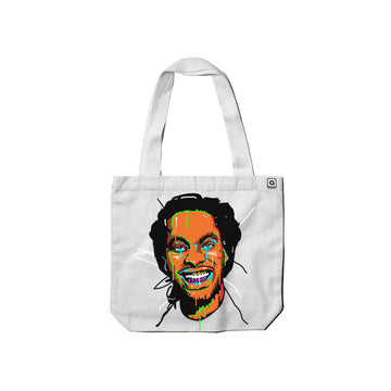 Waka Flocka Flame - Face Carrie Tote Bag - Music Merchandise and Designer Shirts