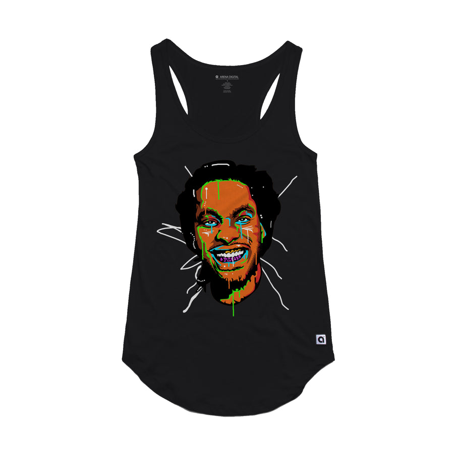 Waka Flocka Flame - Face Women's Tank Top - Music Merchandise and Designer Shirts