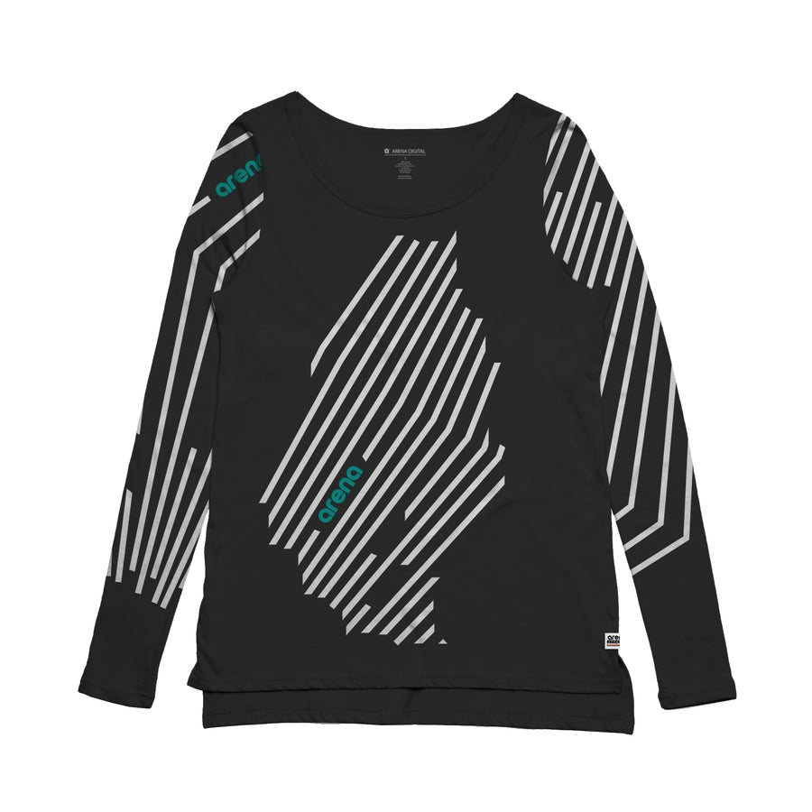 Cascadia - Women's Long Sleeve Tee Shirt - Band Merch and On-Demand Designer Shirts