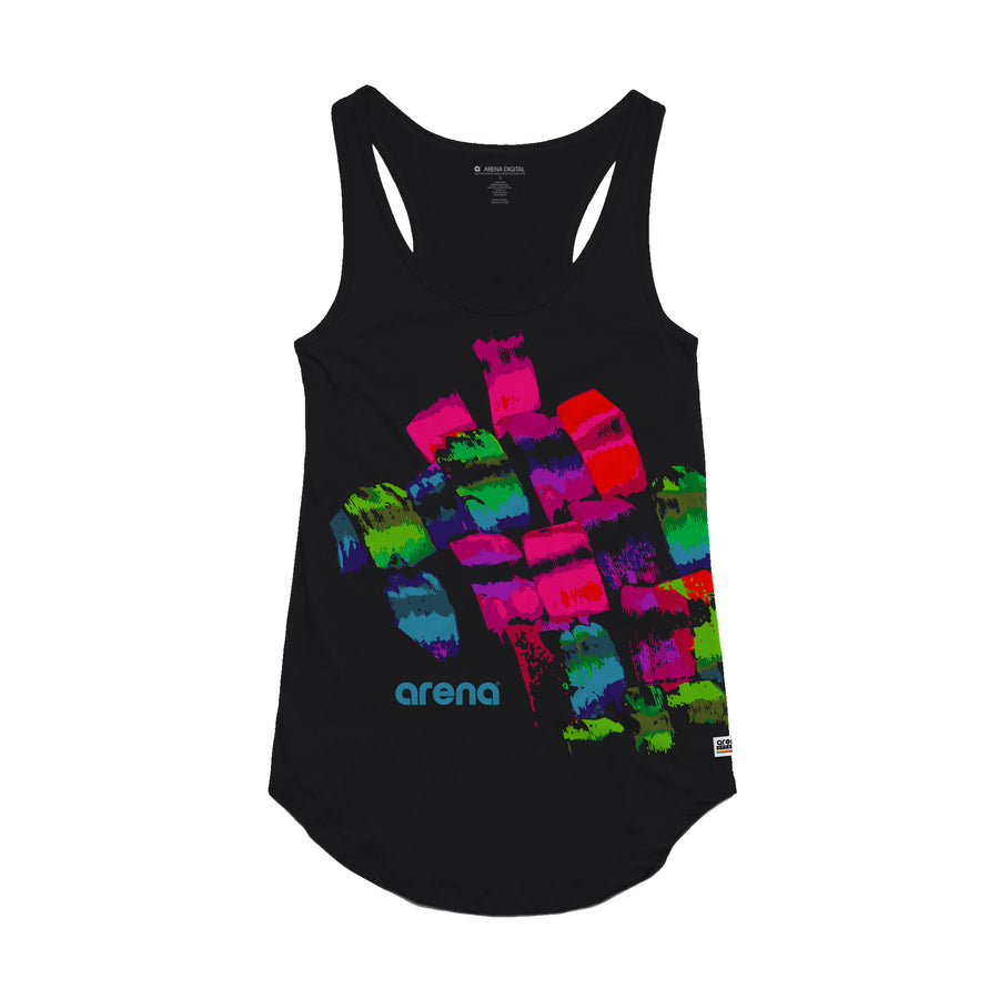 Brush Strokes - Women's Tank Top - Band Merch and On-Demand Designer Shirts
