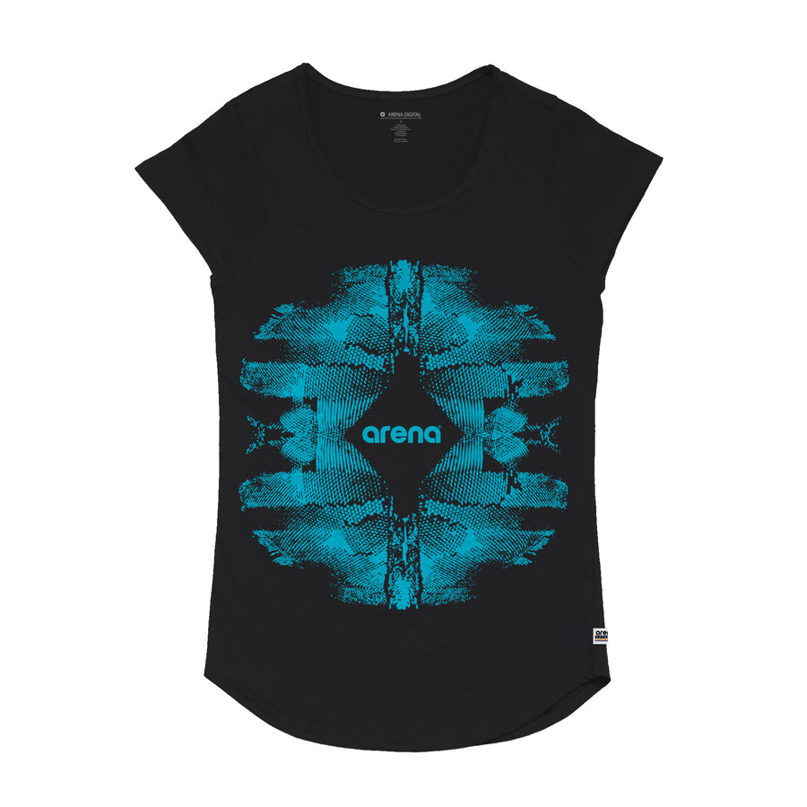 Imprint - Women's Curved Hem Tee Shirt - Band Merch and On-Demand Designer Shirts