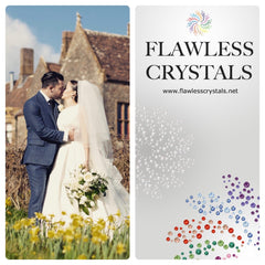Flawless Crystals sew-on and flatback non-hotfix rhinestones perfect for your bridal needs.