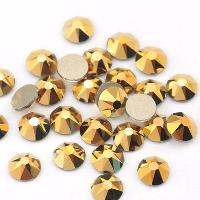 Aurum / Gold Hematite Rhinestones - Flawless Crystals