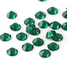Load image into Gallery viewer, Emerald Rhinestones - Flawless Crystals