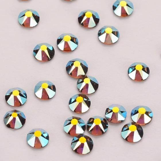 Smoked Topaz AB Rhinestones - Flawless Crystals