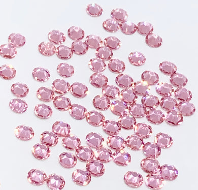 Light Rose Rhinestones - Flawless Crystals