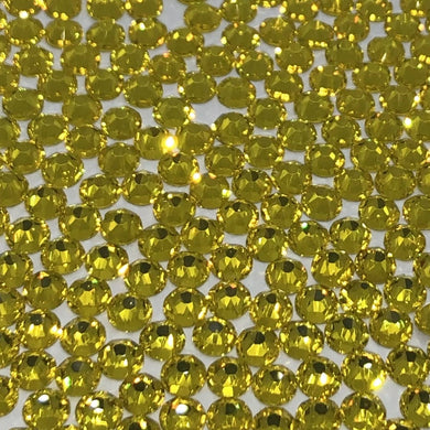 Citrine rhinestones available in ss30, ss20 and ss16 at Flawless Crystals, high quality low price rhinestones based in Perth western Australia