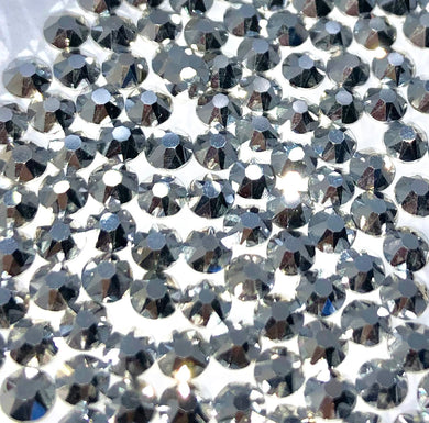 Silver/Labrador sew on gems and rhinestones available in ss20 and ss16 at Flawless Crystals, high quality low price rhinestones based in Perth western Australia