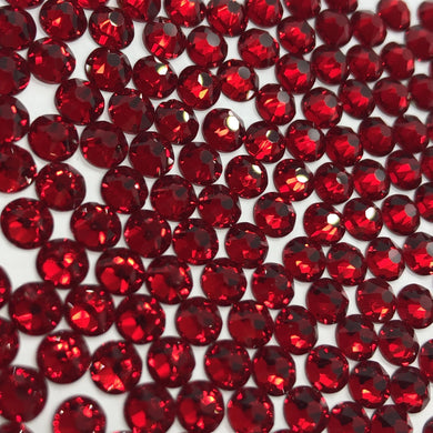 Siam / Dark red sew on gems and rhinestones available in ss20 and ss16 at Flawless Crystals, high quality low price rhinestones based in Perth western Australia