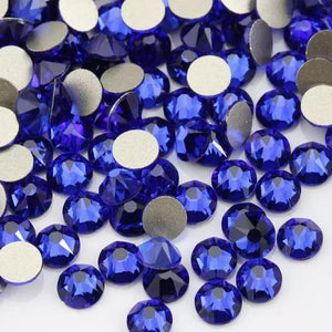 Sapphire Rhinestones - Flawless Crystals