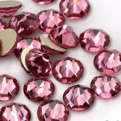 Rose Rhinestones - Flawless Crystals