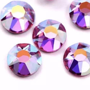 Rose AB Rhinestones - Flawless Crystals