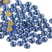 Load image into Gallery viewer, Light Sapphire Rhinestones - Flawless Crystals