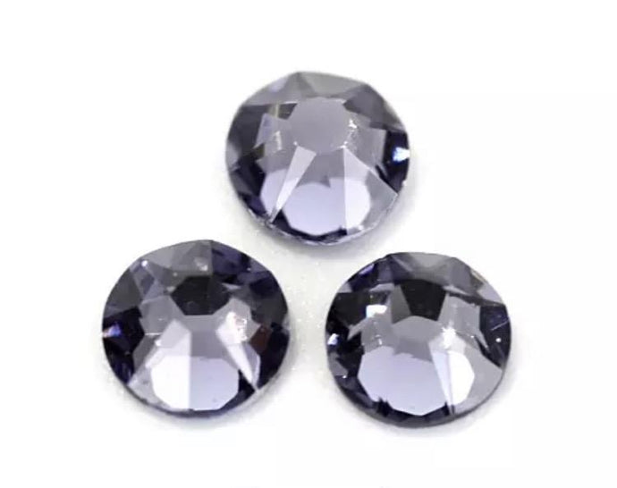 Tanzanite Rhinestones - Flawless Crystals