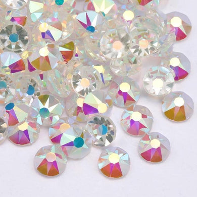 Transparent AB Rhinestones - Flawless Crystals