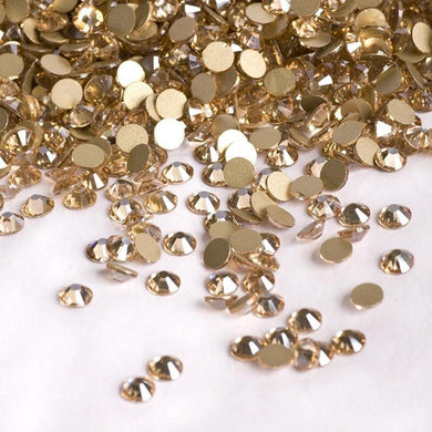 Golden Shadow Rhinestones - Flawless Crystals
