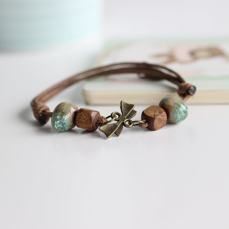 Handmade Ceramic Bracelets for Women - wearevel