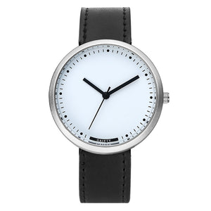 Men Leather Analog Sport Wrist Watch - wearevel