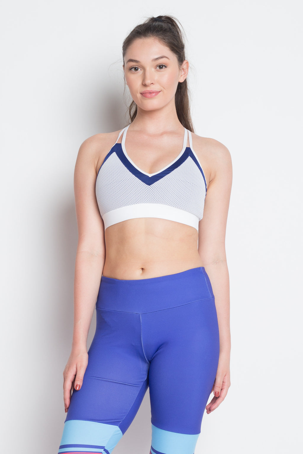 Two Tone quest sports bra - wearevel