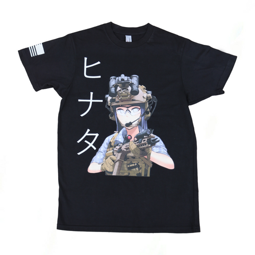 Tactical Hinata T-Shirt - Black