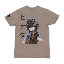 Load image into Gallery viewer, Tactical Hinata T-Shirt - Sand